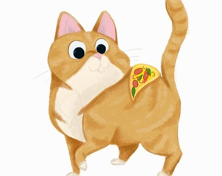 Can cats eat pizza?